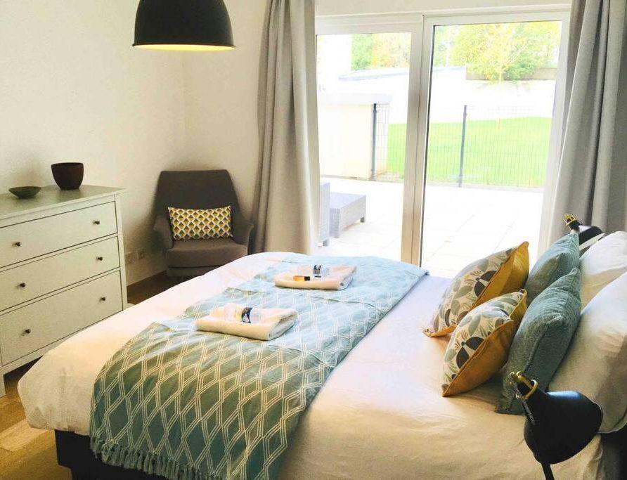 Homy Garden Flat - bedroom