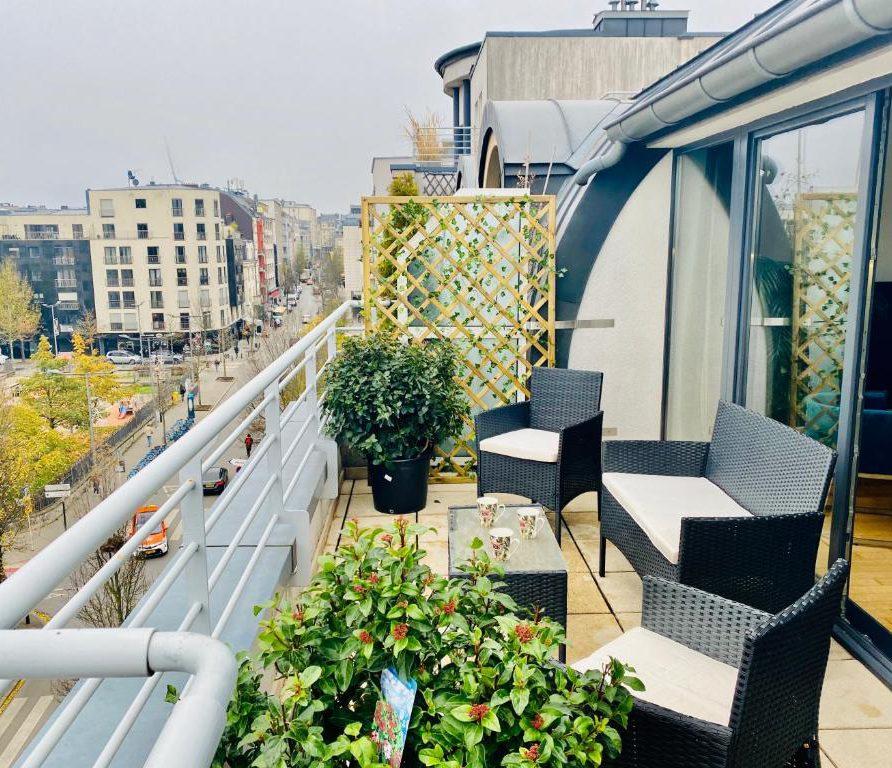 Green Penthouse - terrace