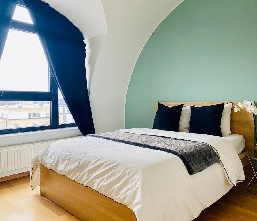 Green Penthouse - bedroom